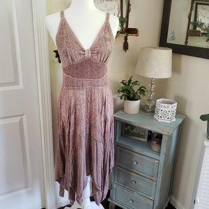 Bohemian flowy dress size small medium